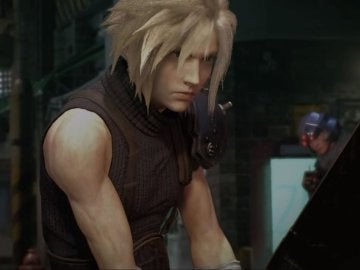 Cloud, en Final Fantasy VII Remake