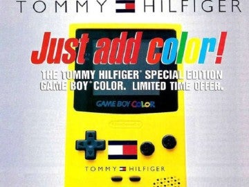 Tommy Hilfiger en Game Boy