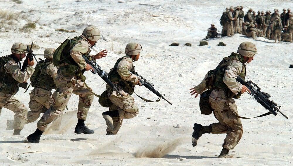 Soldados de guerra