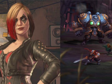 Harley Quinn en 'Batman: The Enemy Within' y 'Nightwar'