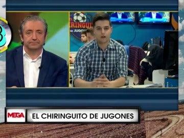 Fermín y las encuestas en 'El chiringuito de jugones'