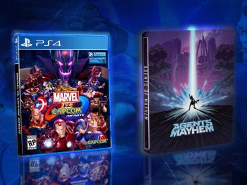 Llévate una edición especial de Agents of Mayhem y una copia de Marvel vs. Capcom: Infinite
