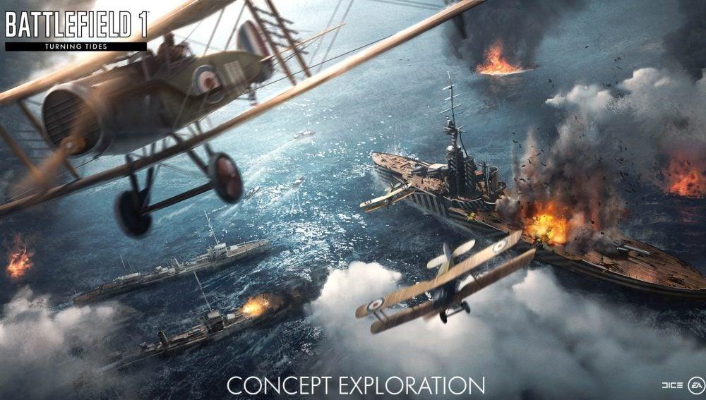 Battlefield 1 Turning Skies