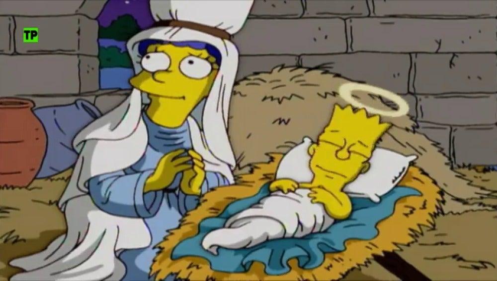 Vive la noche del 24 con el Especial Nochebuena Simpson