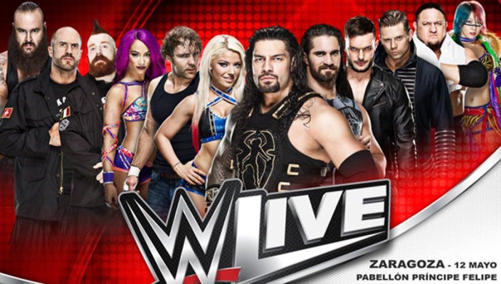 Ya a la venta las entradas de los shows de WWE RAW en Zaragoza y Málaga