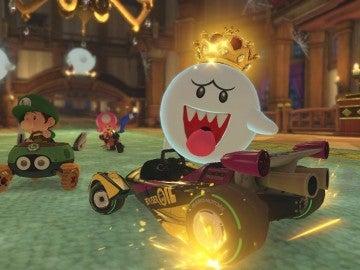 Boo en Mario Kart