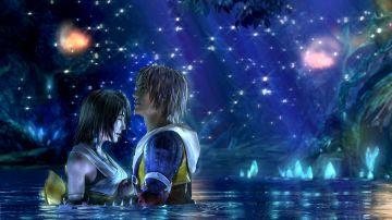 Tidus y Yuna en Final Fantasy X