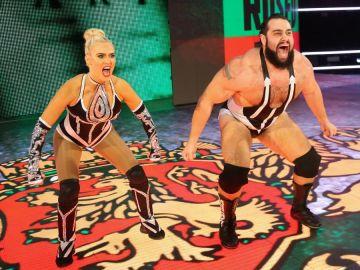 Rusev y Lana son una de las parejas más explosivas de WWE
