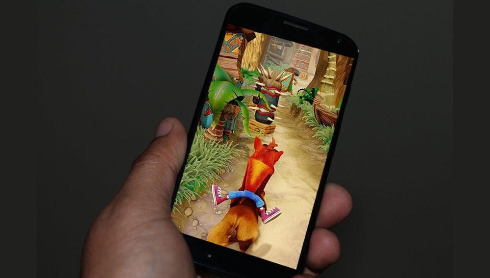 Crash Bandicoot en smartphone