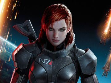 Comandante Shepard en Mass Effect Andromeda