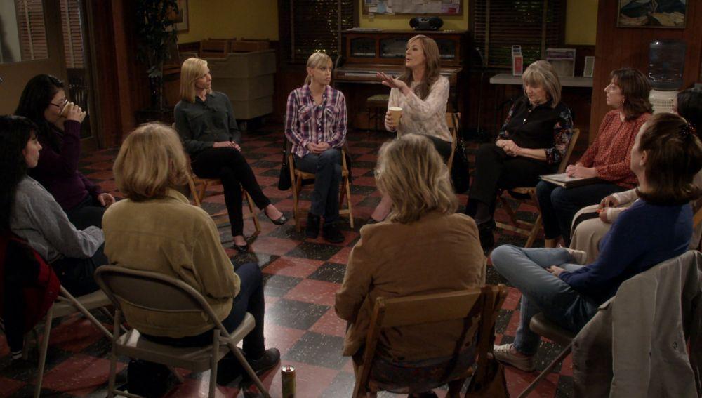 Christy y Bonnie, en terapia de grupo por Jill