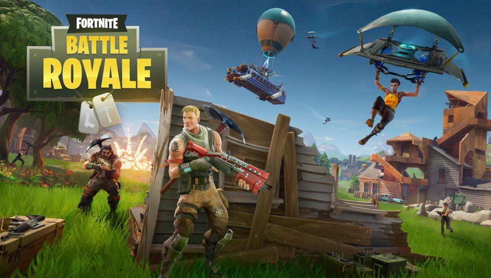 Imagen del videojuego Fortnite