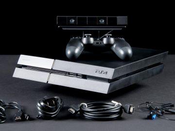 PlayStation 4 con accesorios