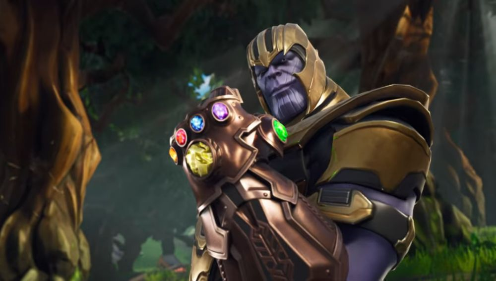 Thanos en Fortnite