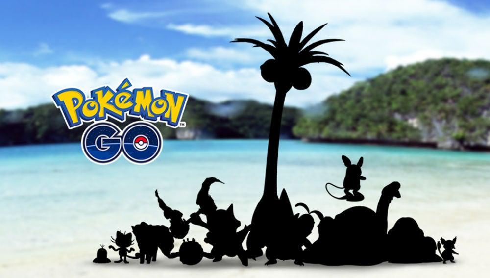 Formas de Alola en Pokémon GO