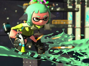 Captura ingame de Splatoon 2