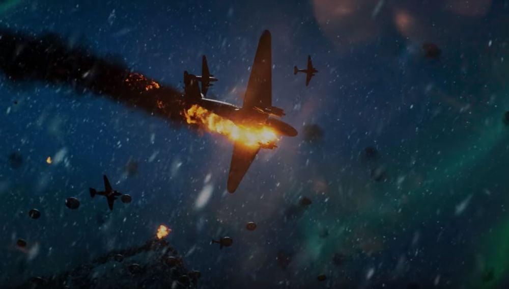 Escena del tráiler de Battlefield V