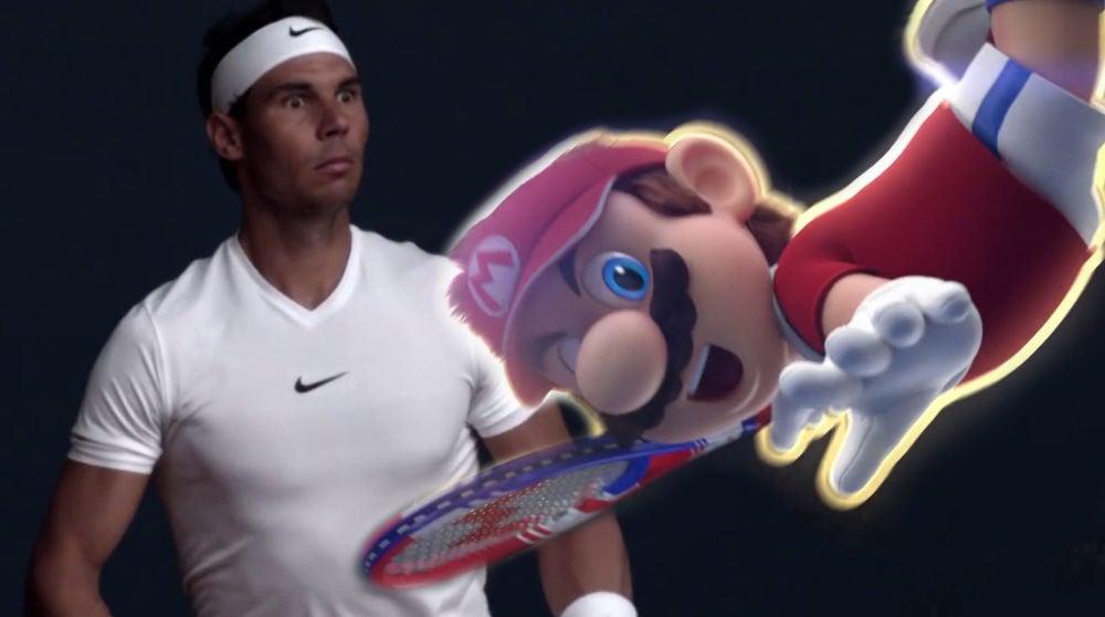 Super Mario se enfrenta a Rafa Nadal en el nuevo Mario Tennis Ace