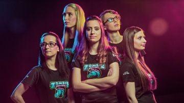 Las Zombie Unicorns, el equipo femenino de League of Legends