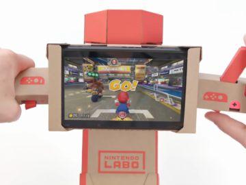 Mario Kart 8 Deluxe y Nintendo Labo
