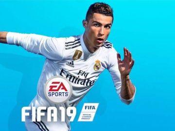 Cristiano Ronaldo, en la portada del FIFA 19.