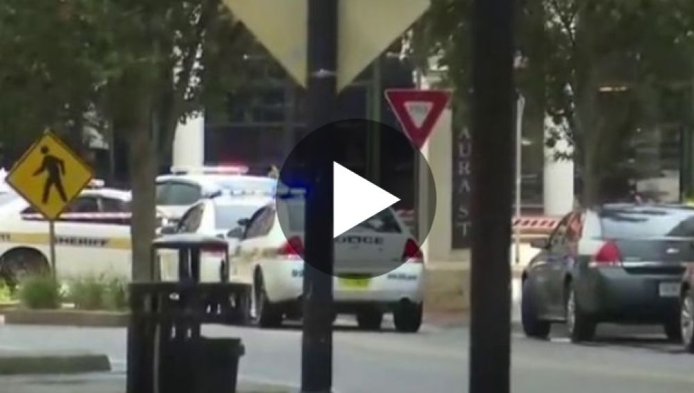 Lugar donde se ha producido el tiroteo en Jacksonville
