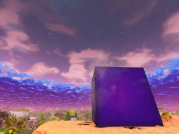 Misterioso Cubo de Fortnite