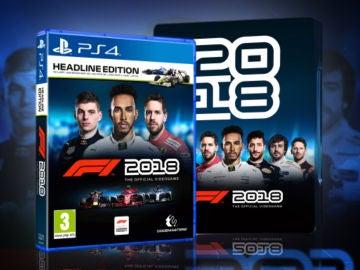 Sorteamos una copia de F1 2018 para PS4 + caja especial