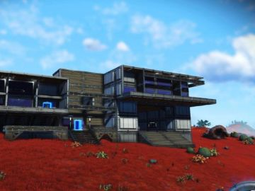 Construcción en No Man's Sky
