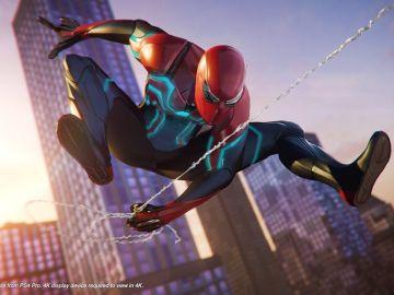 Traje de Velocidad de Spiderman