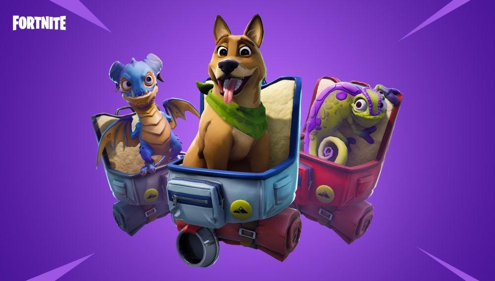 Mascotas en Fortnite