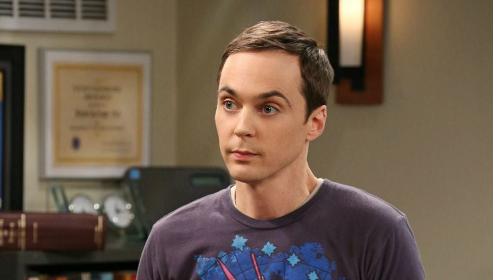 Sheldon Cooper en 'The Big Bang Theory'