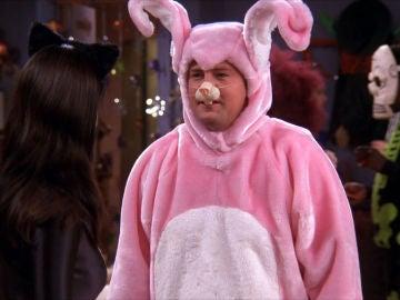 El ridículo disfraz de Chandler
