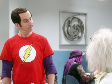 Howard se disfraza de Sheldon por Halloween