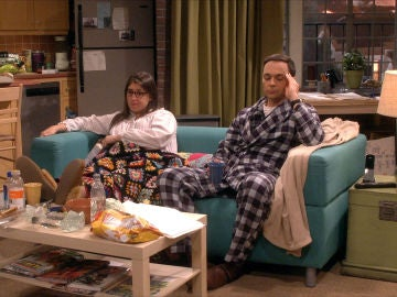 Sheldon y Amy, abatidos