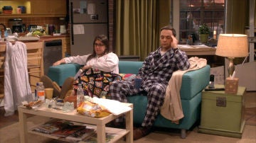 Sheldon y Amy, abatidos