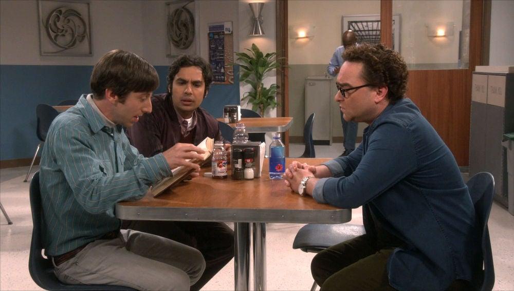 Howard, Leonard y Raj
