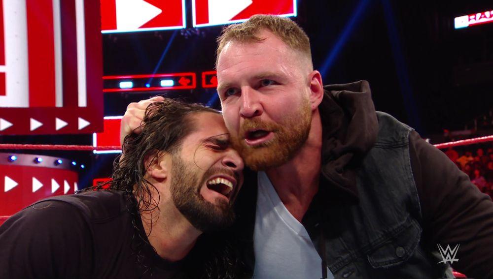 Ambrose y Rollins se ven las caras en el ring rojo