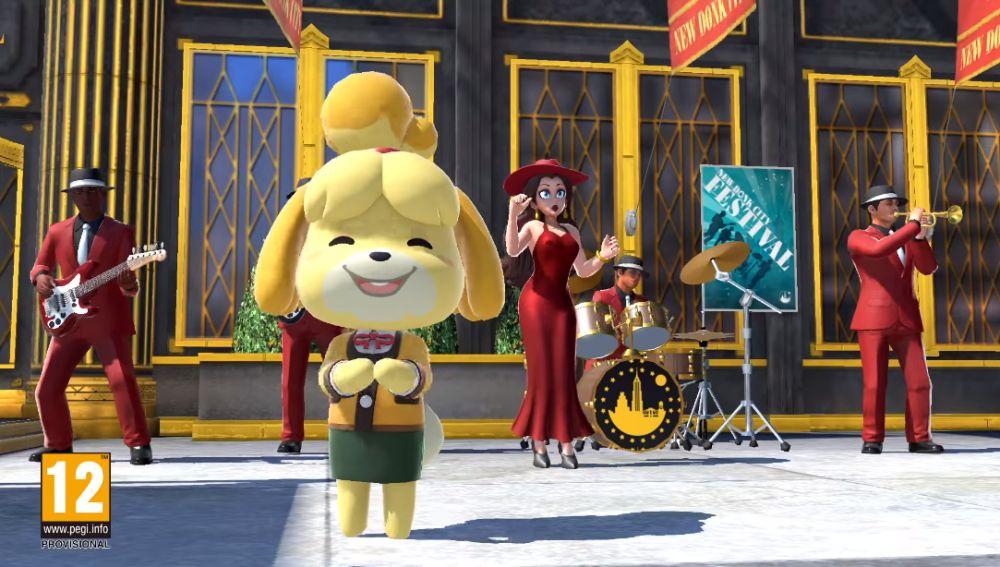 Canela en Super Smash Bros. Ultimate