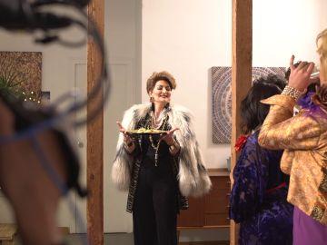Ha llegado la prima donna del guateque