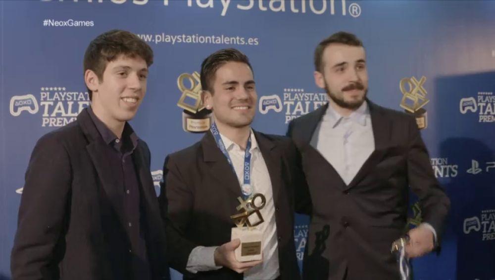 Neox Games asiste a la entrega de los PlayStation Talents en Madrid