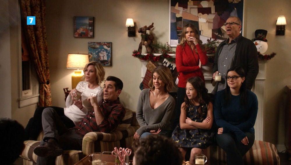 La navidad llega a Modern family