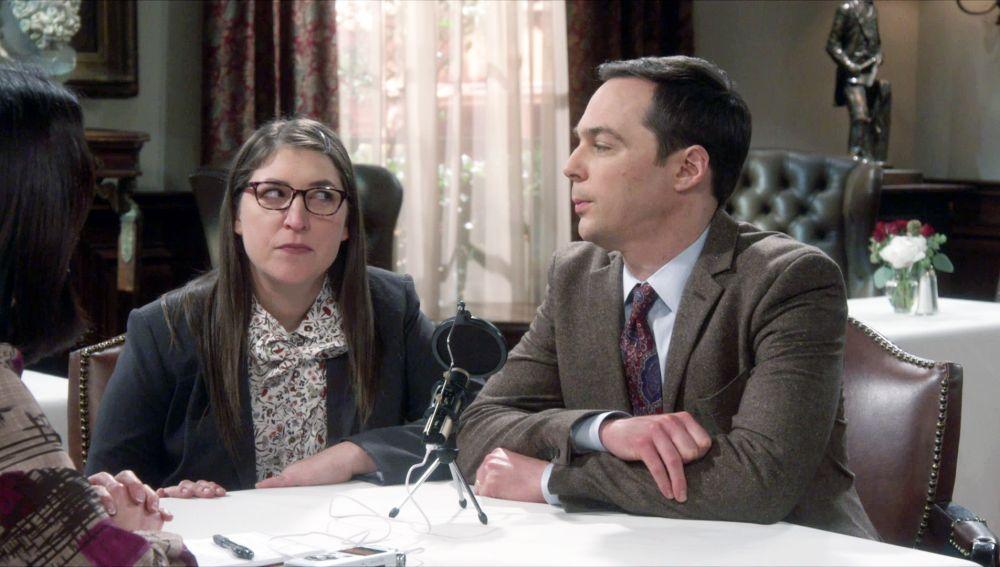 Por qué Sheldon no puede hacer entrevista
