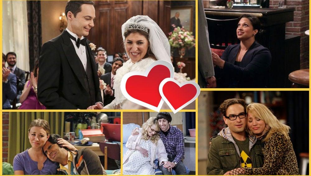 Los momentos que demuestran que el amor es algo más que química en 'Big Bang'
