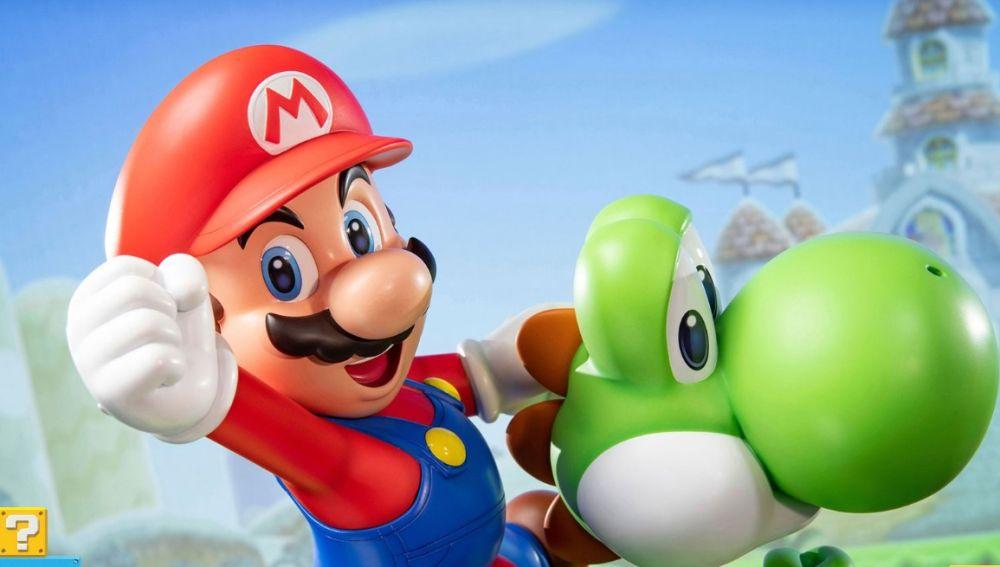 Mario y Yoshi