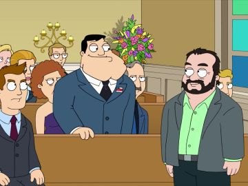 El cameo de Frank Fritz, de 'Cazatesoros', en 'American Dad'