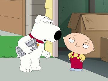 Así se rompió Stewie el himen