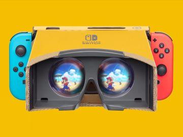 Nintendo Labo x Super Mario Odyssey