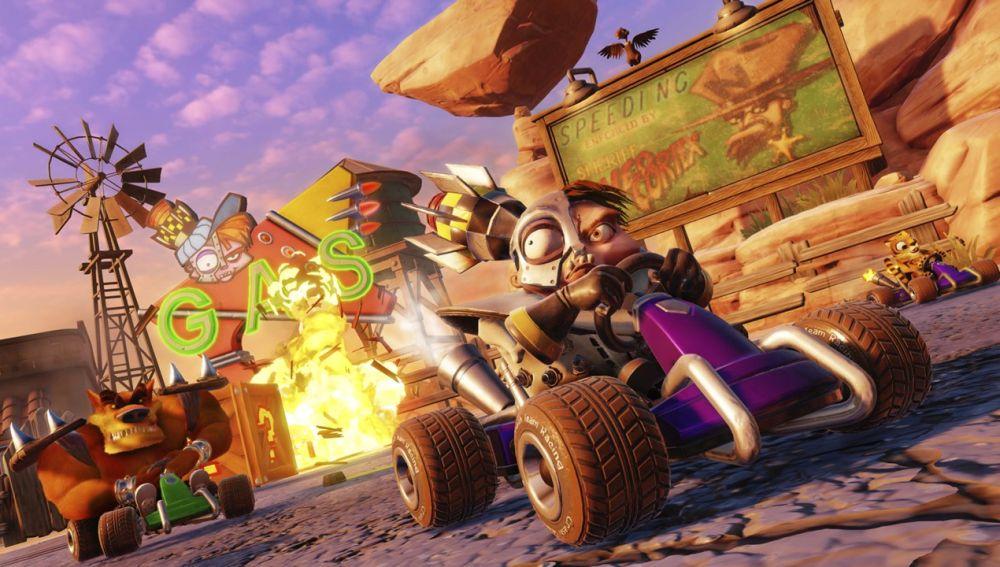 Crash Team Racing: Nitro Fueled