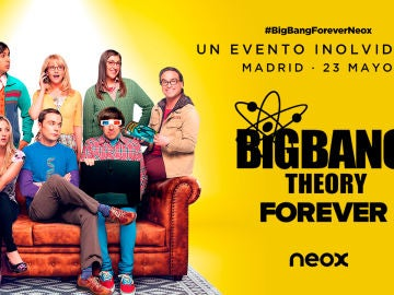 Consigue una entrada doble para ver el último capítulo de 'Big Bang' en un evento inolvidable en Madrid